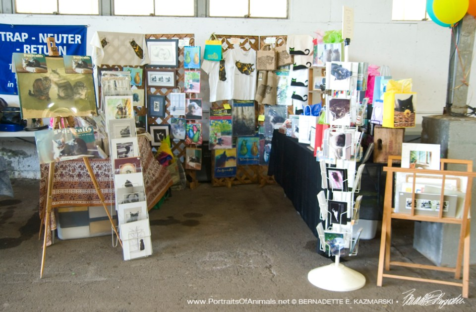 My display at the Pet Fair.