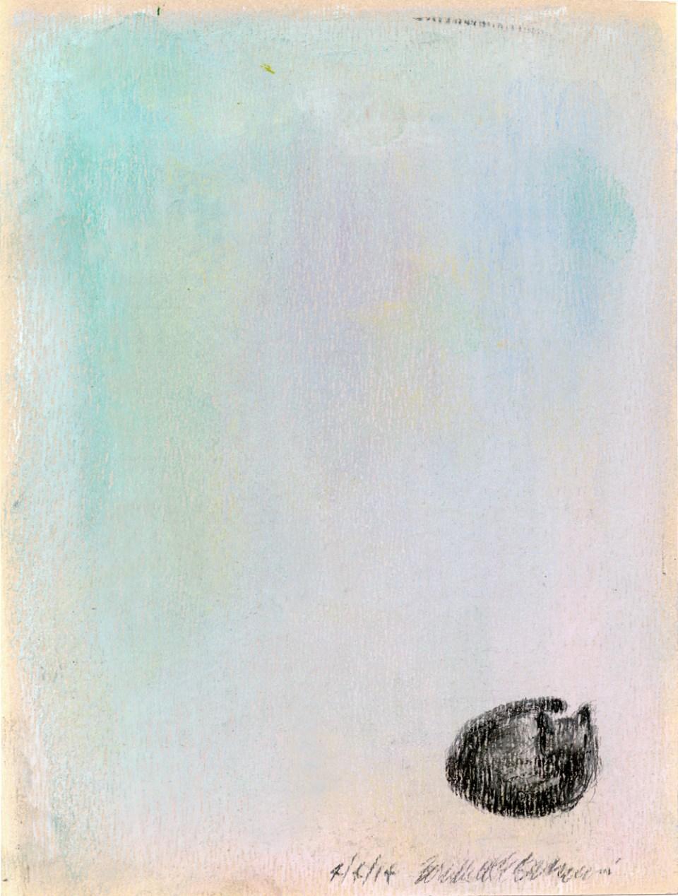 """Peaceful Nap"", pastel, 5″ x 7″ © Bernadette E. Kazmarski"