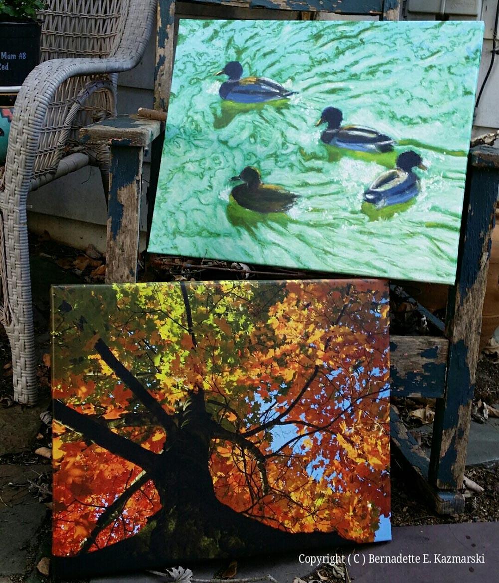 Wordless Wednesday: Canvas Prints!