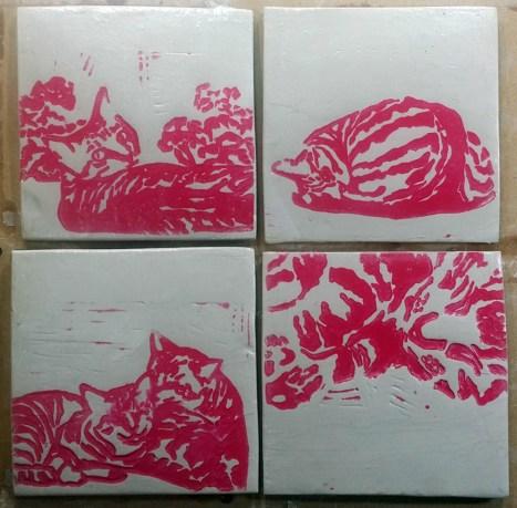 Tiles-pink