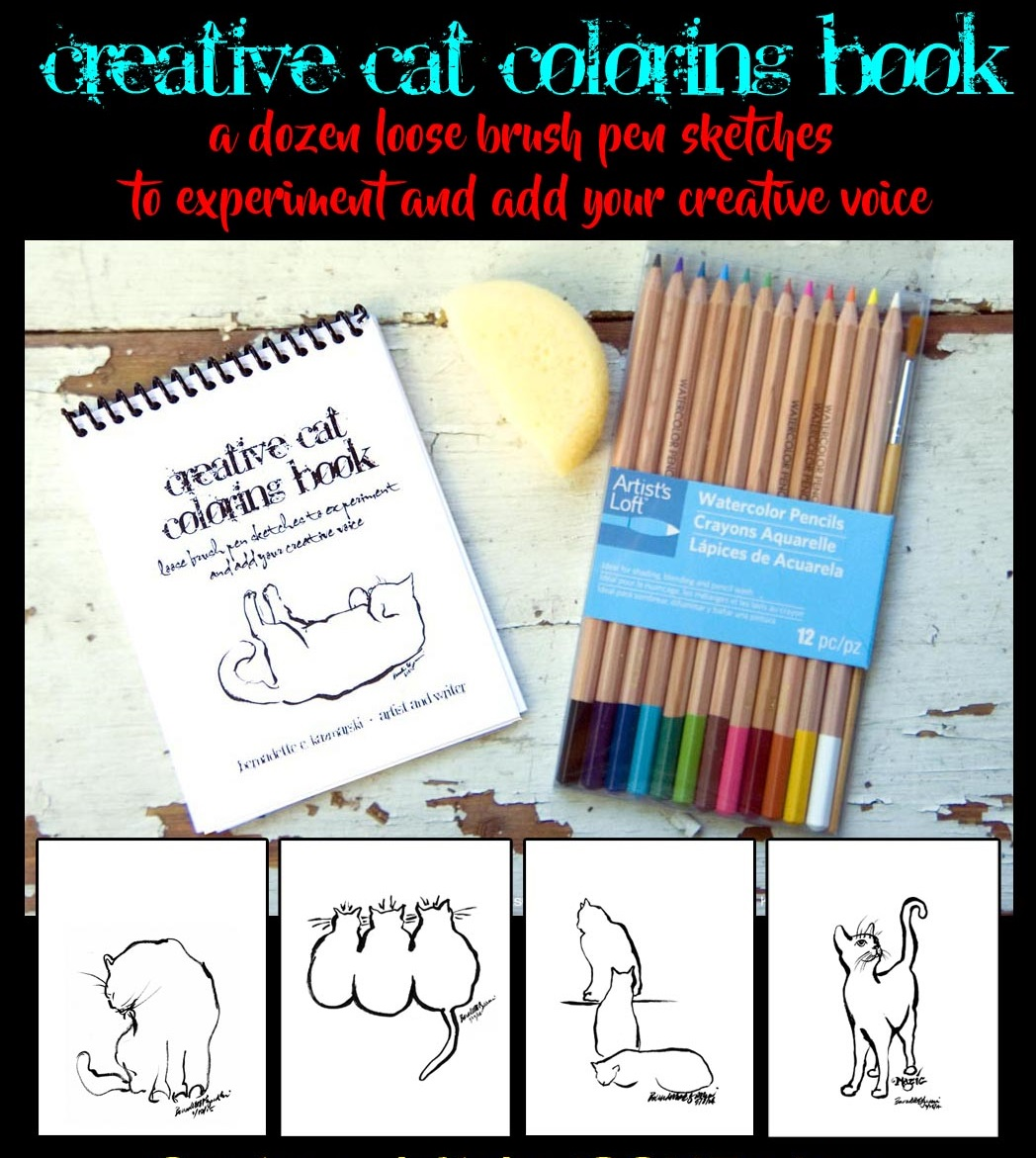 Reduce Your Stress With the Creative Cat Coloring Book