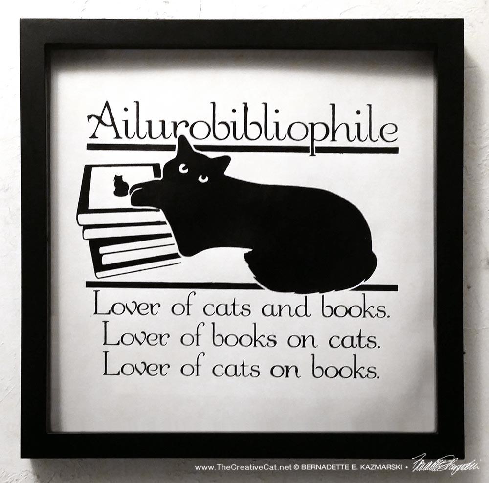 Framed Ailurobibliophile Prints