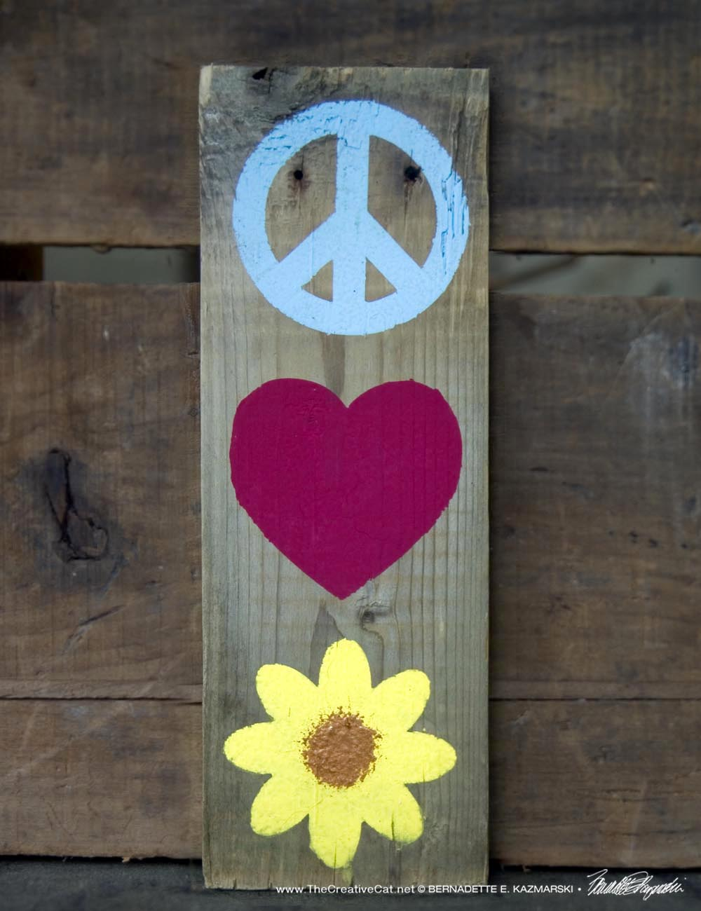 Peace, Love and Flowers, or Nature, or...