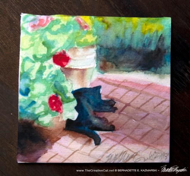 Garden Sketch With Mimi Tile