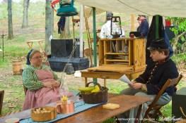 The Adjutant's Tent