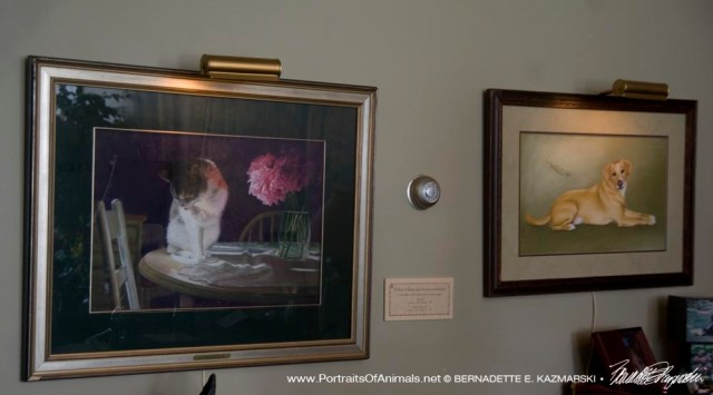 """""""Peaches and Peonies"""" and """"Buckwheat"""" at Chartiers Custom Pet Cremations"""