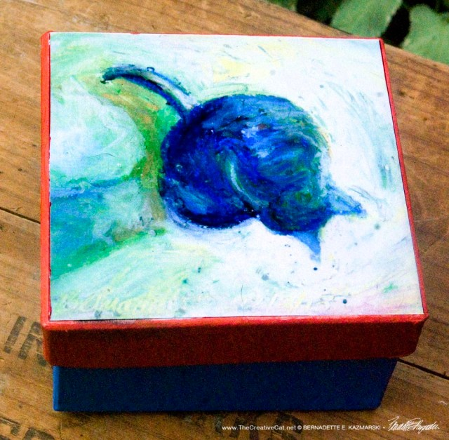 Cool Morning Bath Keepsake Box