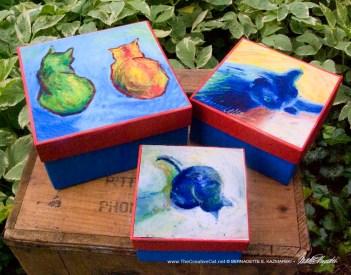 Cats After van Gogh Keepsake Set