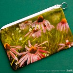 Evening Wildflowers small accessory bag.