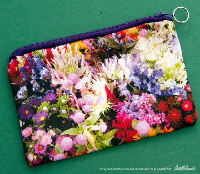 Market Flowers Small Accessory Bag