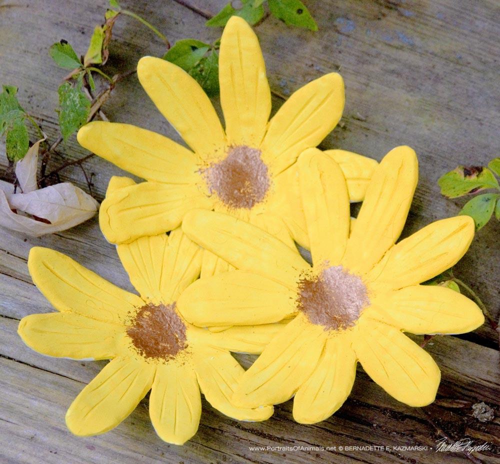 Woodland Sunflowers Decorative Dish