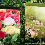 flower garden flags