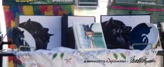 The black cat shelf