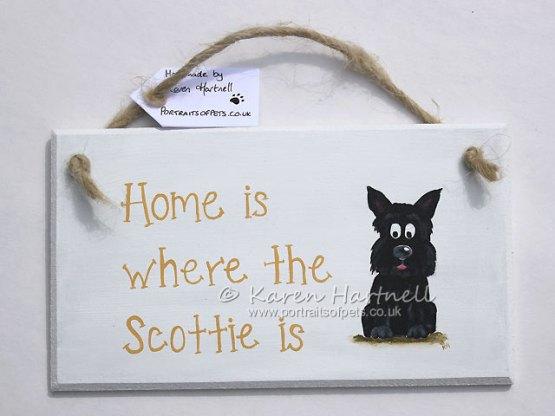 Scottie Scottish Terrier plaque