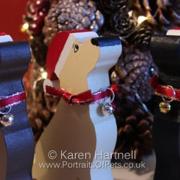 Christmas Labrador