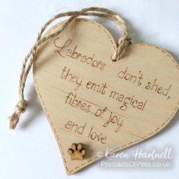 Wooden Heart Plaques