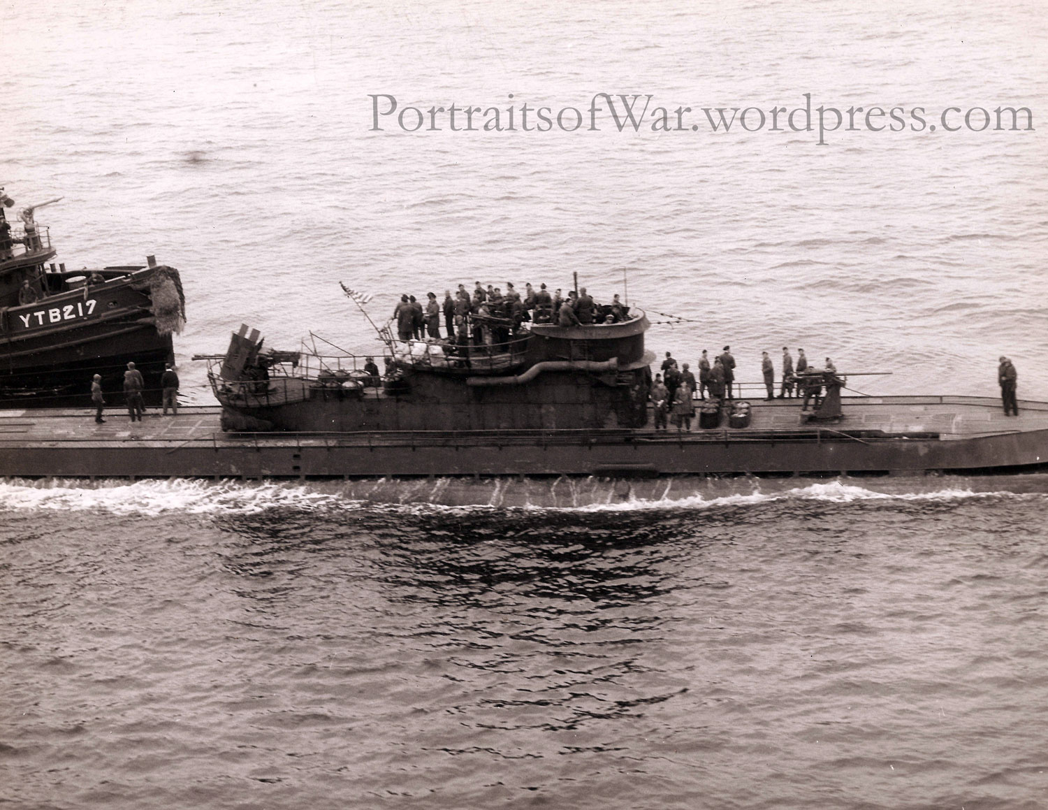 Captured German U Boats In Portsmouth New Hampshire May