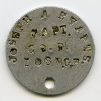 WWI 26th Yankee Division, 103rd Machine Gun Battalion Vermont Dog Tag Grouping