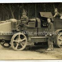 WWI Balloon Company Winch Truck - A French Latil Mystery Story
