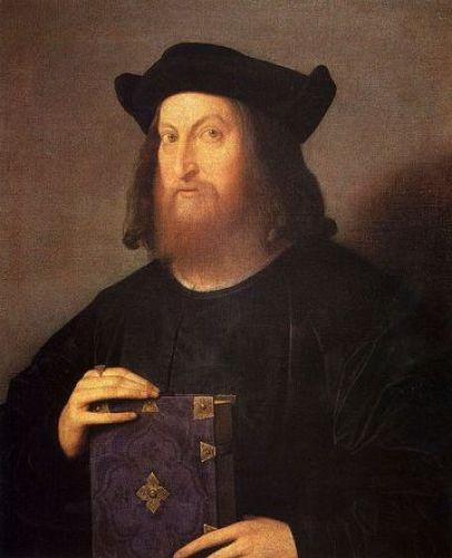 Gian Giorgio Trissino, 1510 by Vincenzo Catena, ca. 1470-1531 Teatro Olimpico, Vicenza