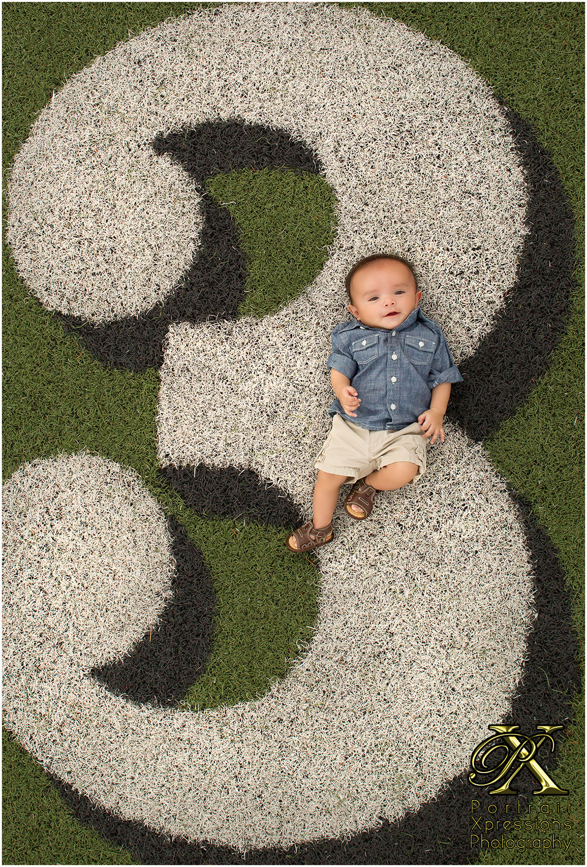 3 month baby portraits