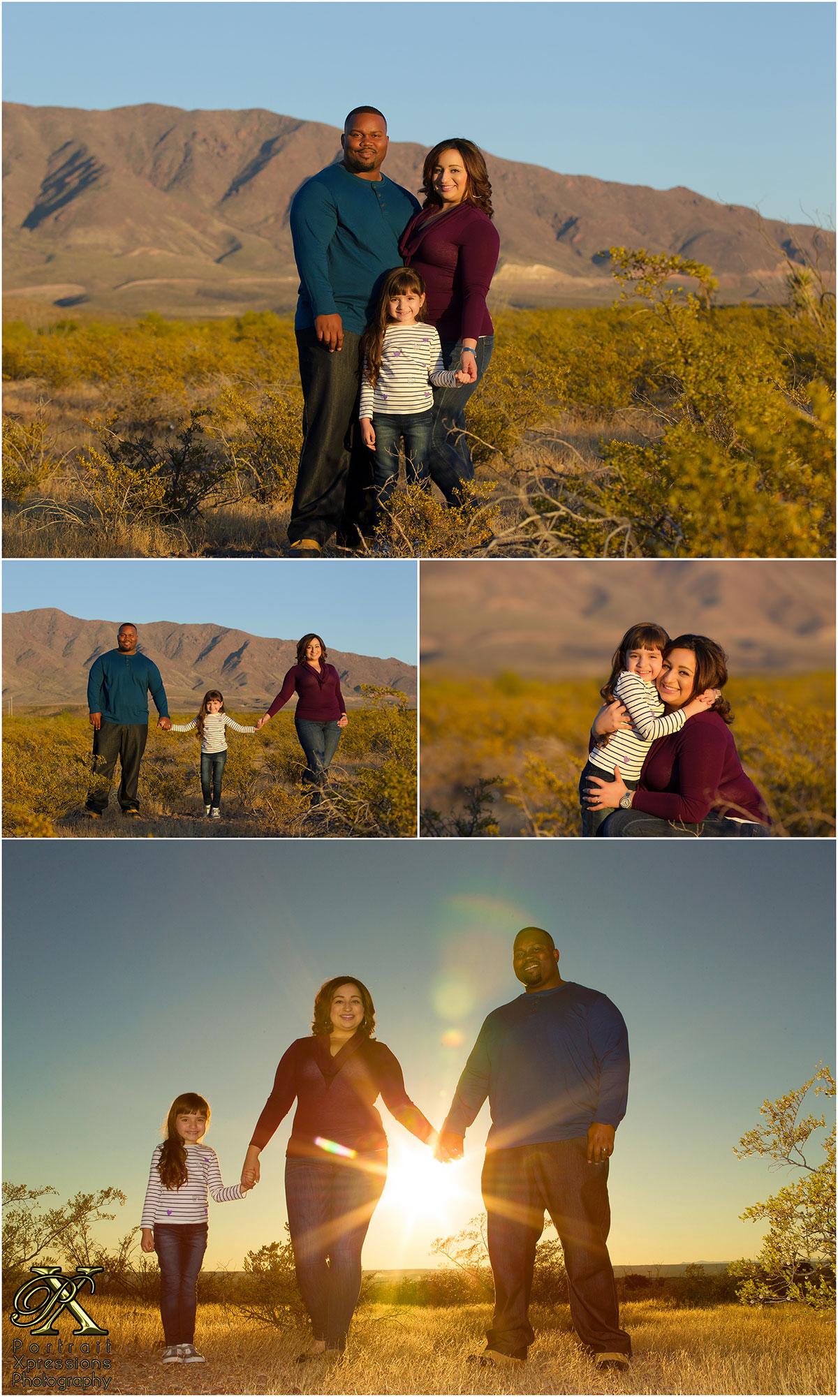 family portraits in El Paso