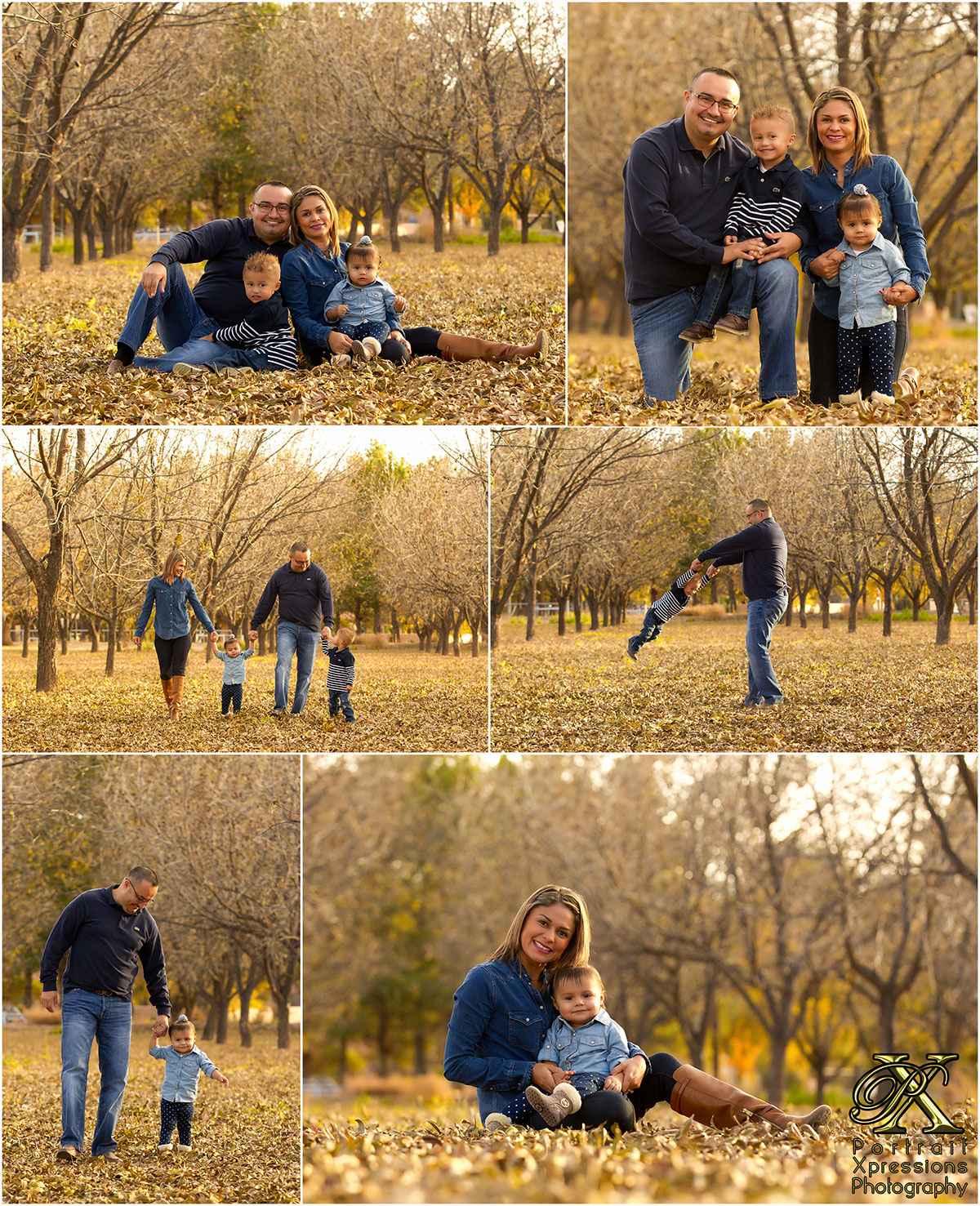 fall family session photography