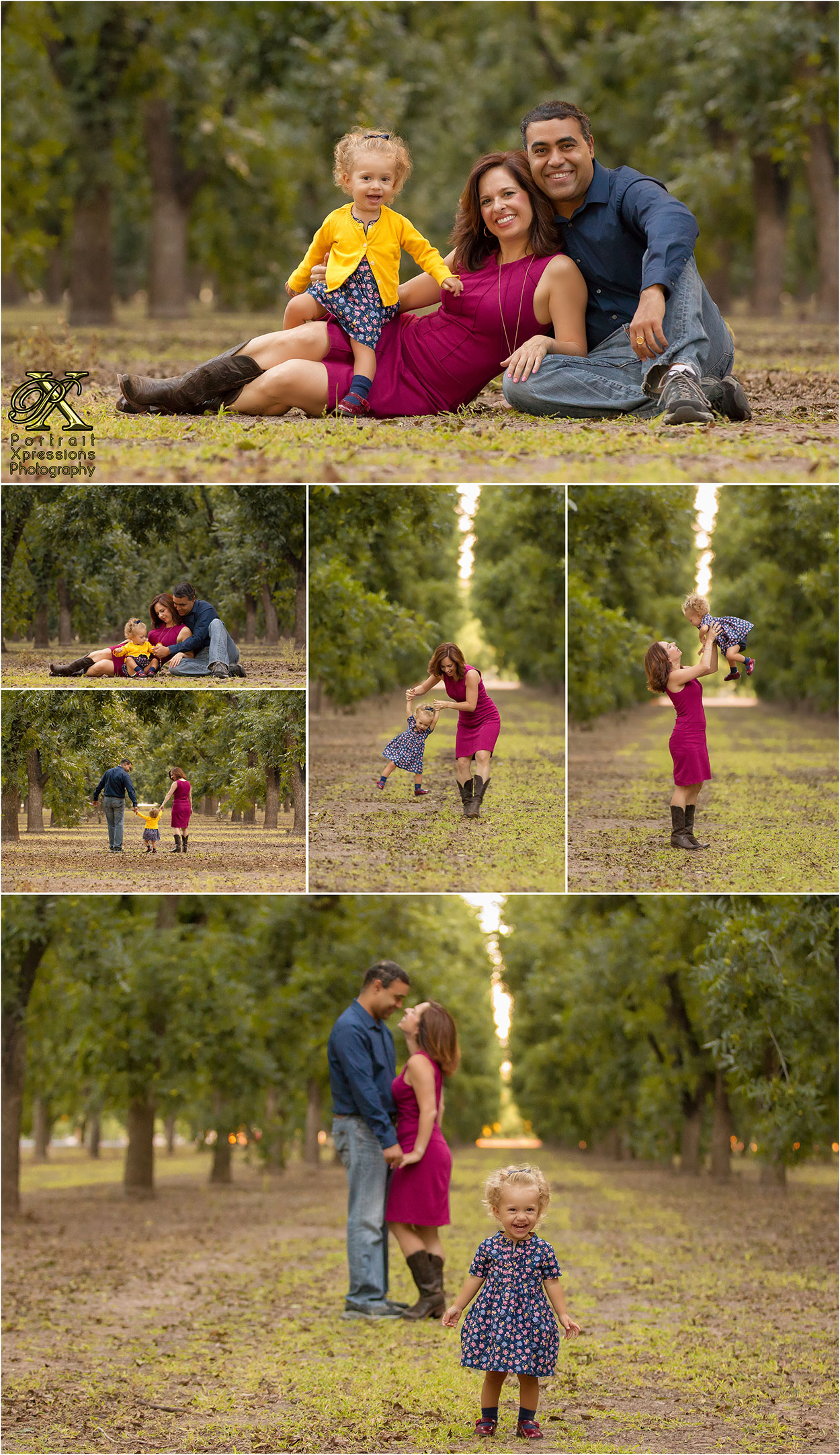 fall family portraits in El Paso Texas
