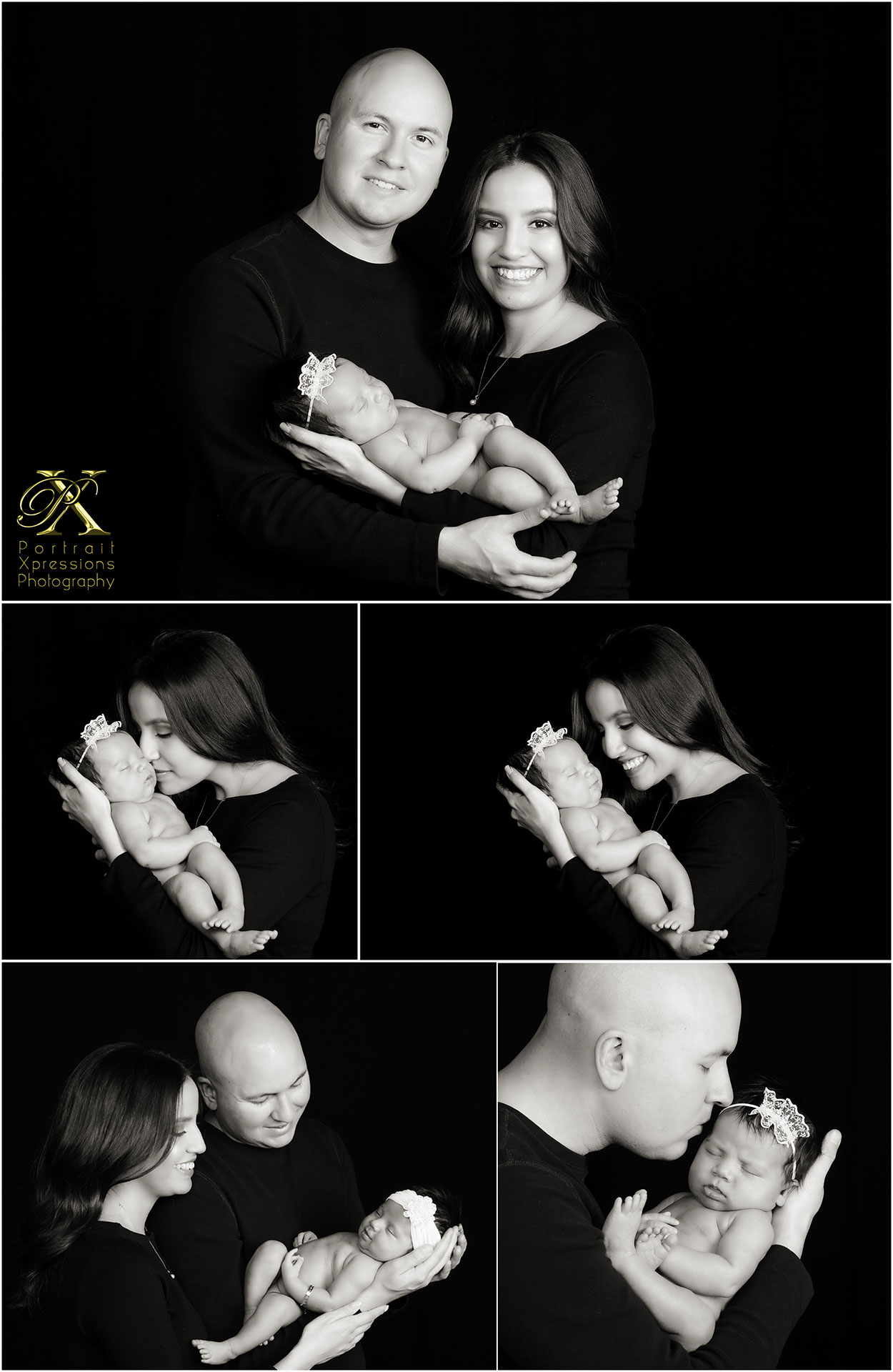 baby and parents relationship portraits