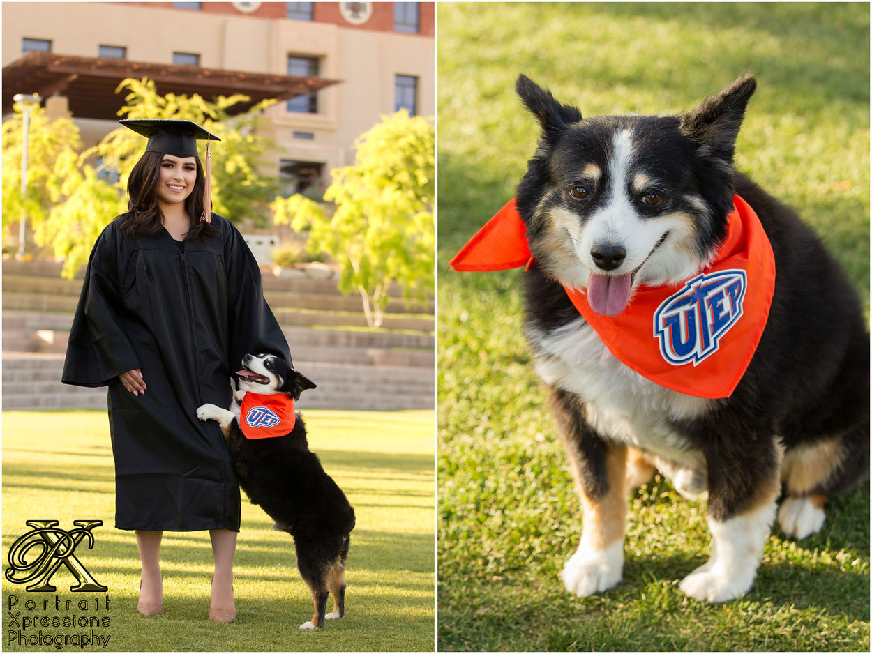 UTEP senior portraits