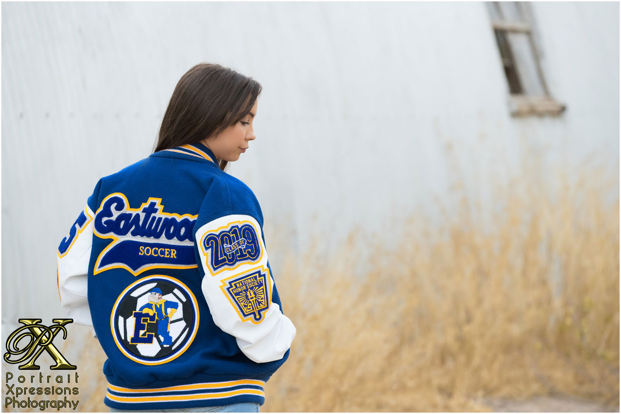 Eastwood High School letterman jacket