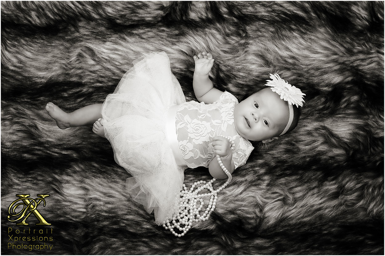 studio baby portraits in El Paso