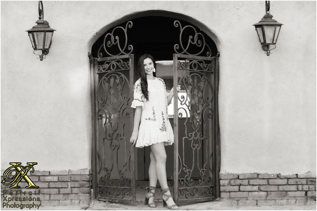 high school senior model-type portrait session