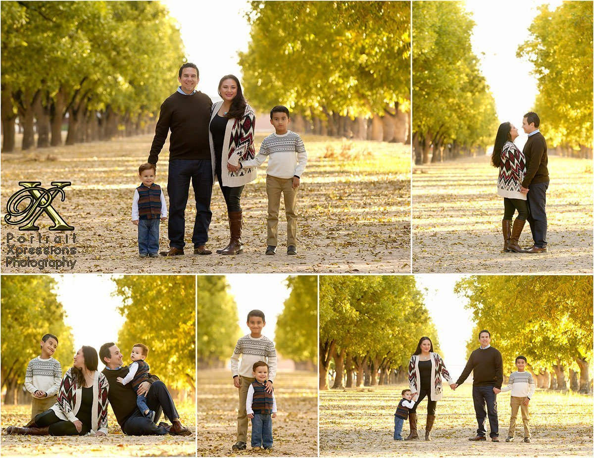 Family portraits in El Paso by Portrait Xpressions