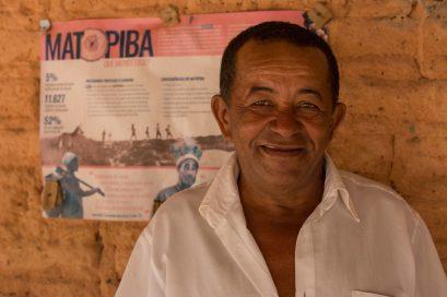 Jovercino Silva quase teve a casa queimada por um incêndio que veio de uma fazenda vizinha