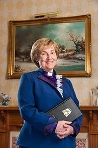 Rt Rev Lorna Hood, Moderator of the General Assembly of the Church of Scotland