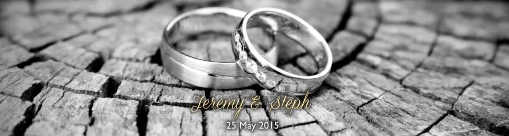 Jeremy and Steph 25/05/15