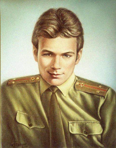 Портрет с фото на заказ, выполненный пастелью.