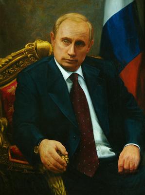 Портрет Путина в хорошем качестве 19.9 МБ от автора