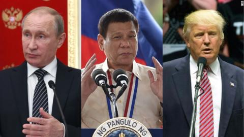 Donald Trump Can't Tell Good Dictators From Bad   Portside