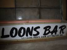 Loons Bar Sign