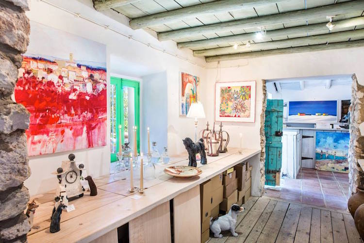 Côrte-Real Gallery - A Haven for Art in Paderne - Portugal Confidential