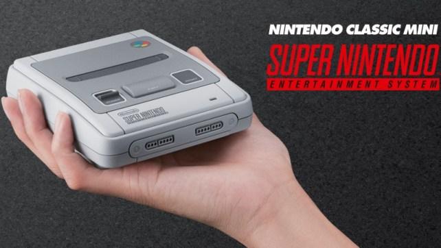 Nintendo Classic Mini: SNES é oficialmente anunciada