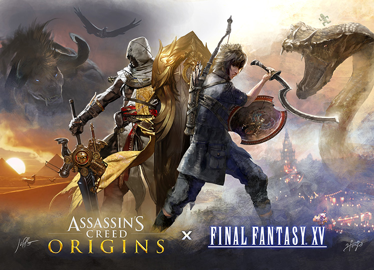 Final Fantasy XV terá DLC de Assassin's Creed