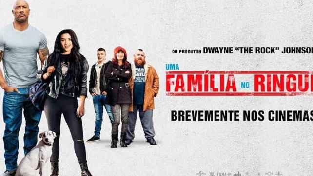 """Dwayne Johnson regressa ao cinema com """"Uma Família no Ringue"""""""