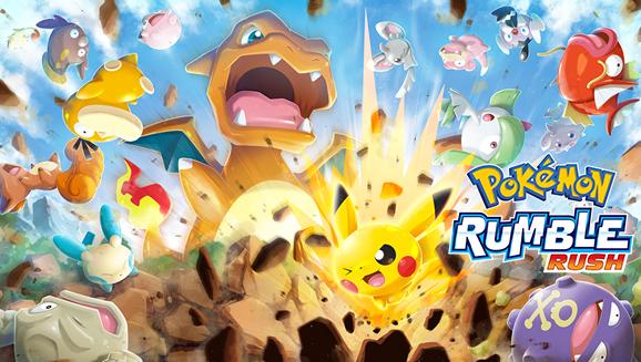 Pokemón Rumble Rush vao chegar aos Smartphones