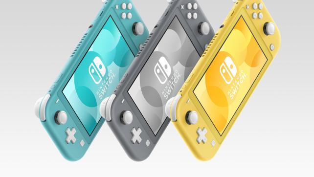 Já chegou a Nintendo Switch Lite