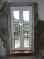 Door onto the terrace