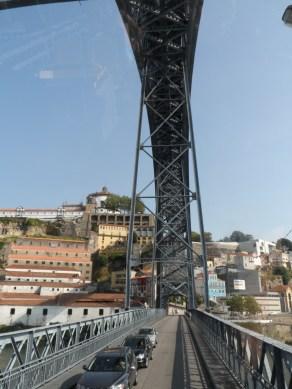 We crossed over the Douro river to Vila nova da Gaia