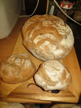 This wholemeal bread is a favourite